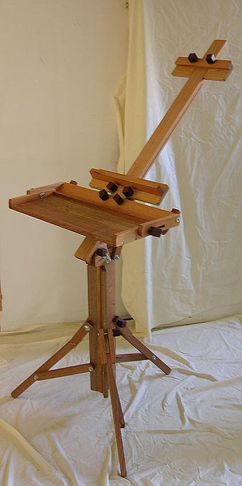 Horizontal to Vertical Fully Folding Easels
