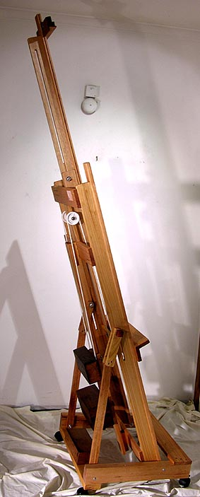 H Frame Easels with Counterweight